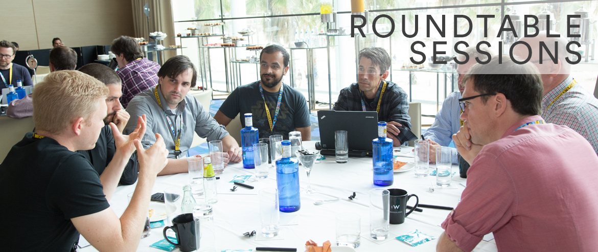 2016 roundtable sessions