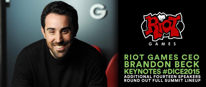 Brandon Beck to Keynote 2015 D.I.C.E. Summit