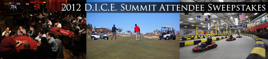 2012 D.I.C.E. Summit Attendee Sweepstakes