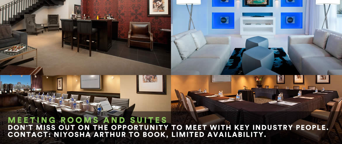 Meeting Rooms and Suites