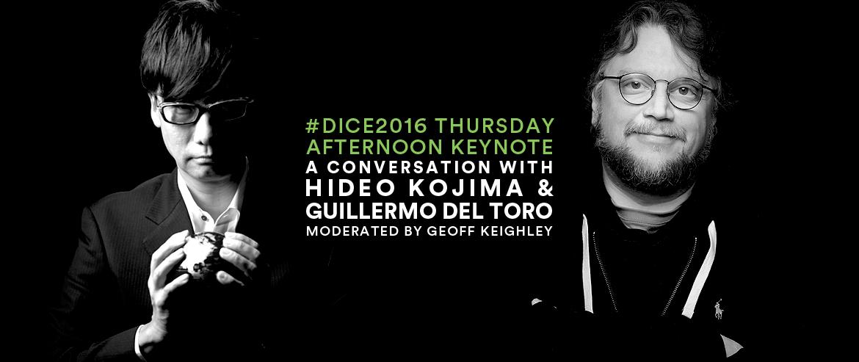 Hideo Kojima and Guillermo del Toro, D.I.C.E. Summit 2016