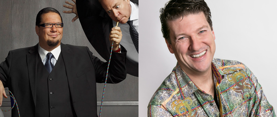 Penn Jillette and Randy Pitchford